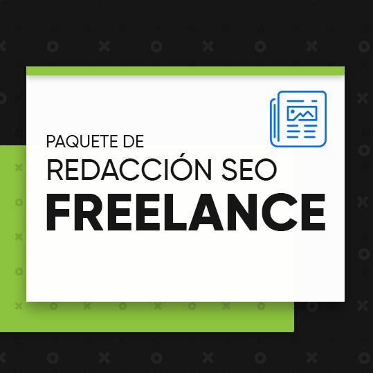 """Paquete de redacción SEO """"Freelance"""""""