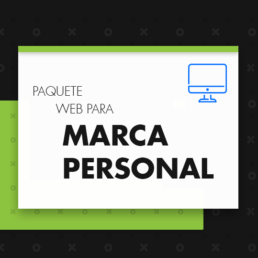 Paquete web para marca personal